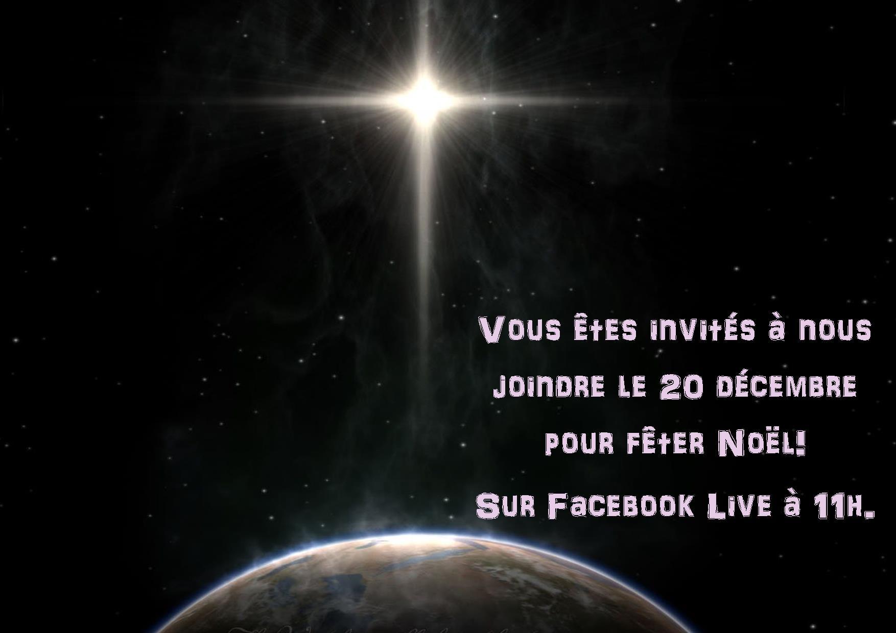 Invitation Noël